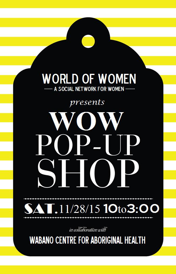 WOW Pop-Up Shop