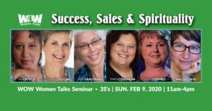 WOW Women Talks Seminar - FEB 9th 2020 @ Pine View Golf Course